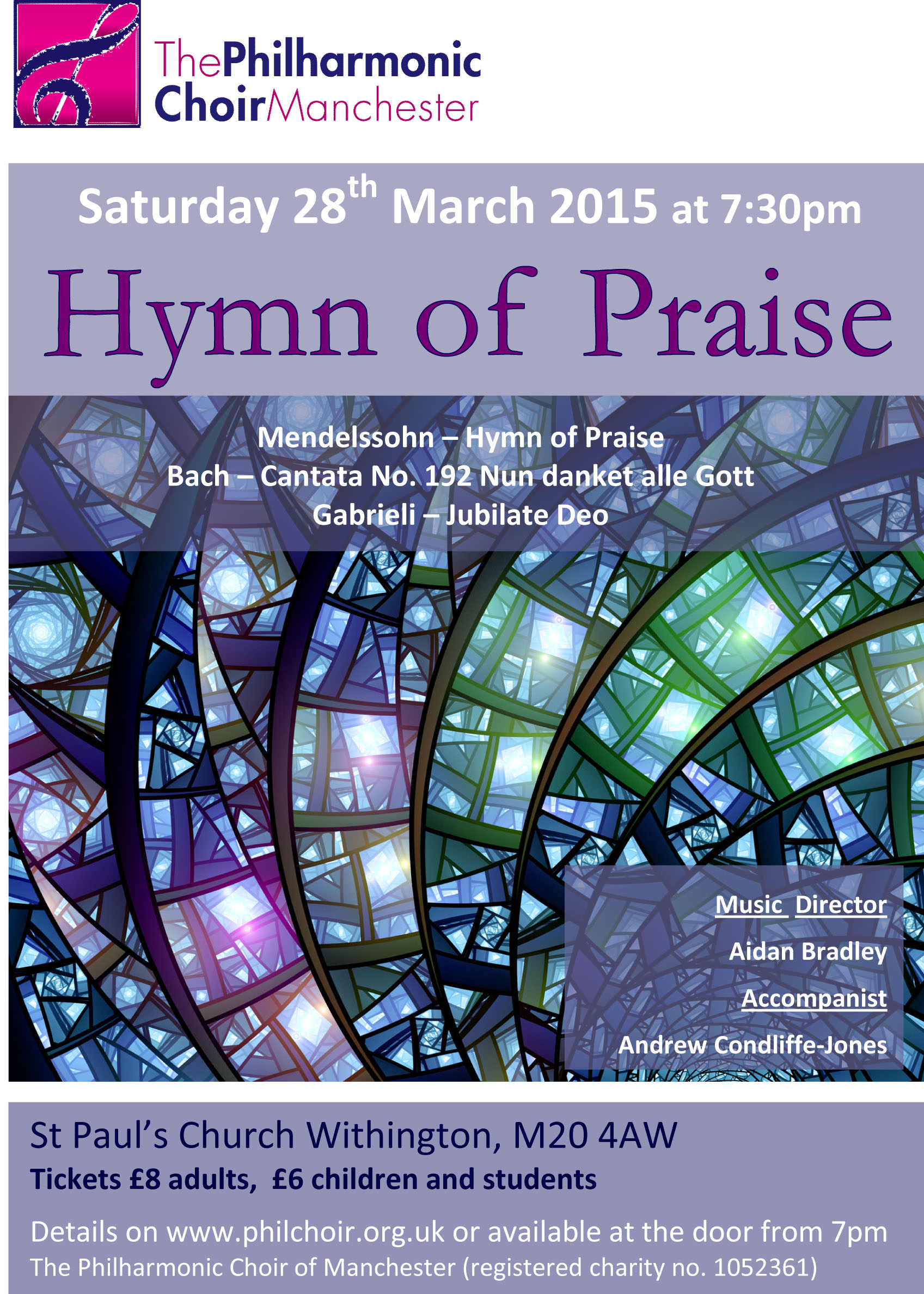 Microsoft Word - Choir Poster Easter 2015.doc